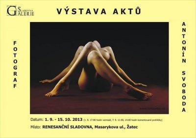 Výstava Aktů Antonín Svoboda