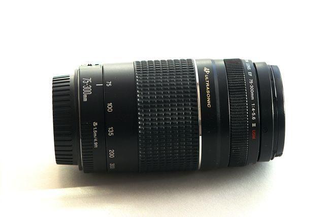 Obj. Canon EF  75-300 USM -  Prodáno
