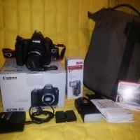 Canon EOS 600D v záruce, objektiv 50 mm f/1.4, blesk a fototaška