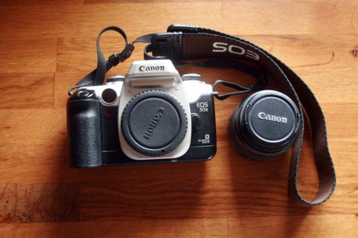 Canon eos 50E+objektiv 35-80mm