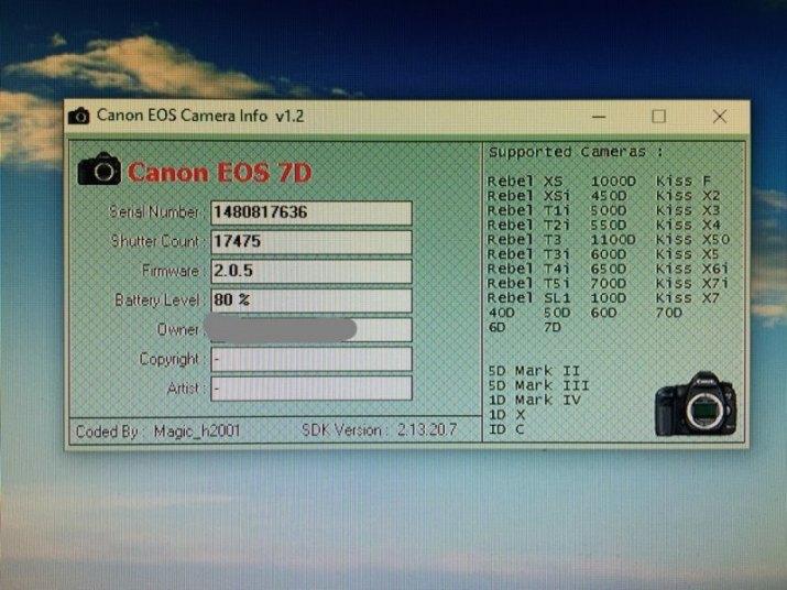 Prodám Canon eos 7D