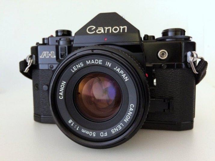 Canon A-1 + Canon FD 50/1.8