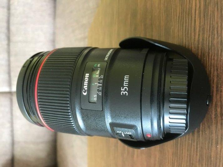 Prodej Canon 35 mm f/1,4 L II USM