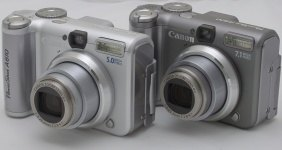 Canon A620, nebo A610