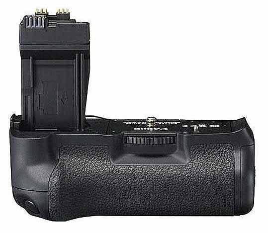 Prodám bateriový grip pro Canon 550D  BG-E8,nové nabíjecí baterie