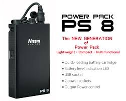 Nissin PS8 Power Pack pro Canon
