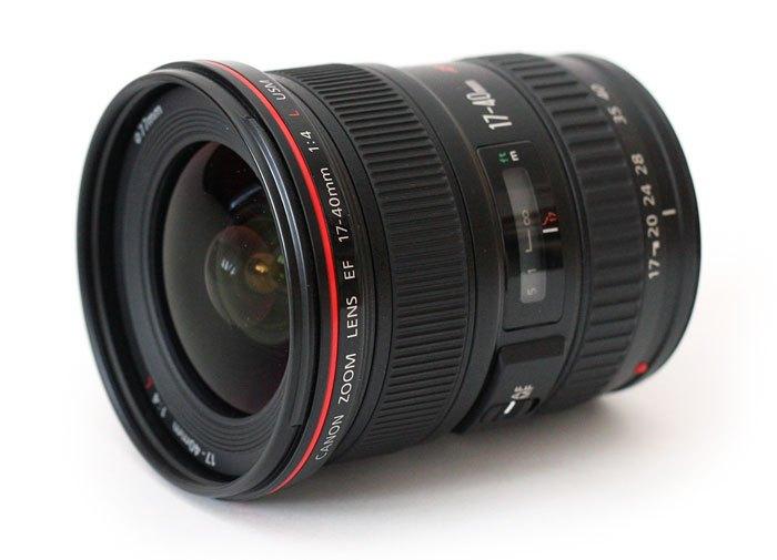 Prodám objektiv Canon EF 17-40mm F4 L USM