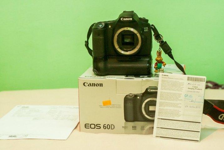 Canon 60D+BG