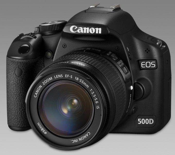 Prodám Canon 500D, Canon 18-55