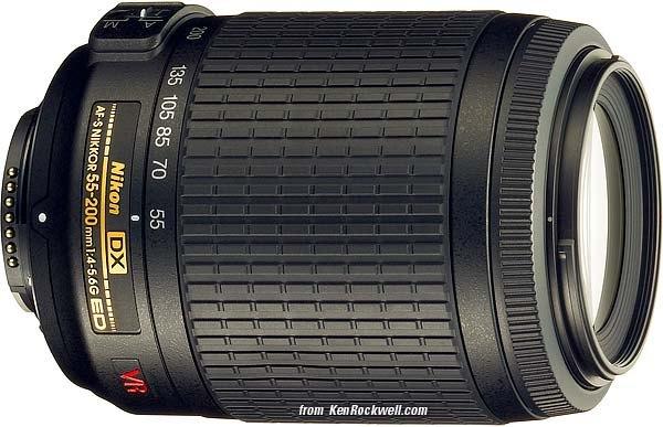 Nikon AF-S 55-200mm f/4,0-5,6 G DX ED VR
