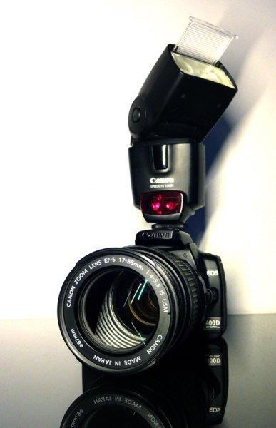 Canon 400d / 17-85 IS / 430 EX / Cullmann