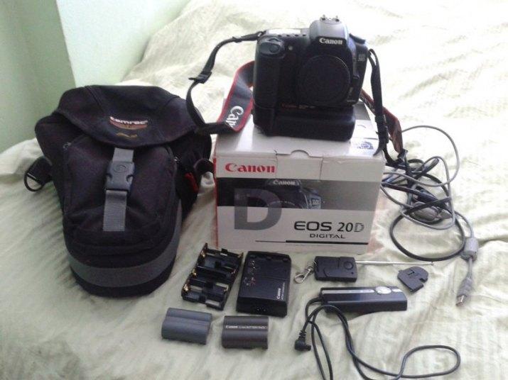 Canon EOS 20D 20 D, Canon battery grip BG-E2