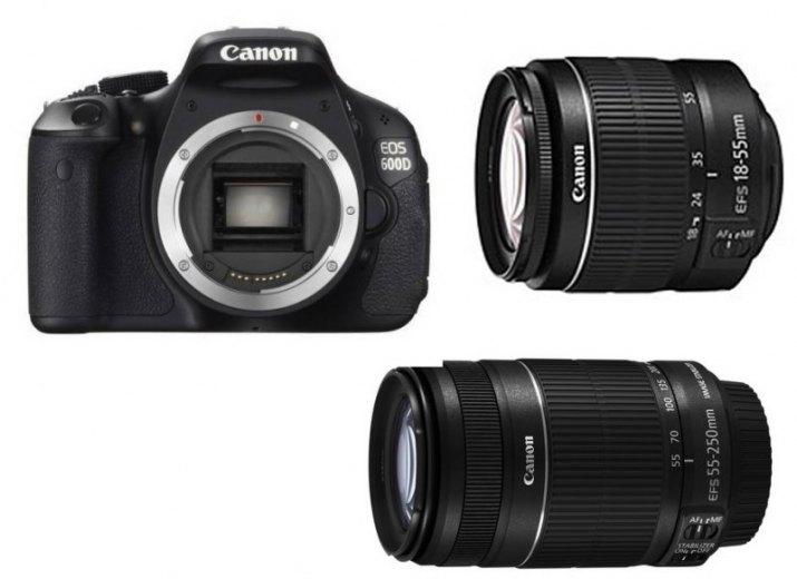 Prodám Canon EOS 600D + 2 objektivy a příslušenství