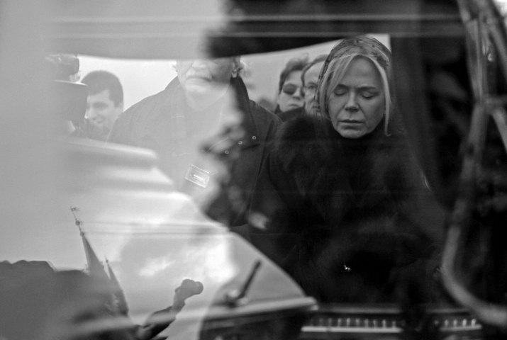 DAVID W. ČERNÝ, Reuters: Smutek Dagmar Havlové, 2011