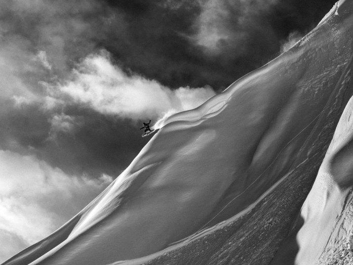 SPORT Čestné uznání MICHAL BROUČEK, volný fotograf:  AK Freeride Alaska III, březen, 2012