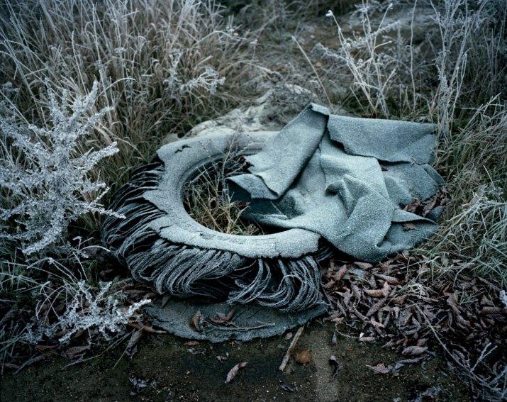 PŘÍRODA A ŽIVOTNÍ PROSTŘEDÍ Čestná uznání MILAN JAROŠ, Respekt: Sever v mlze, severní Čechy, listopad 2011(série)