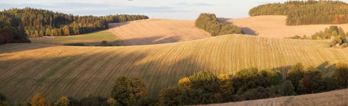Bělice panorama na severovýchod