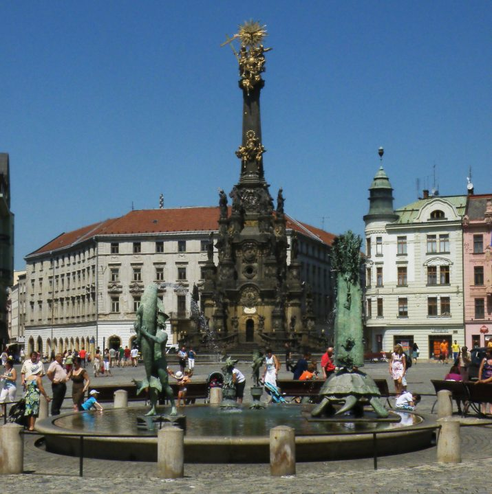 Letní den v Olomouci