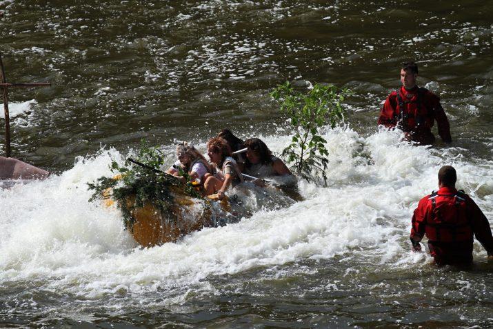 Netradiční plavba po Radbuze