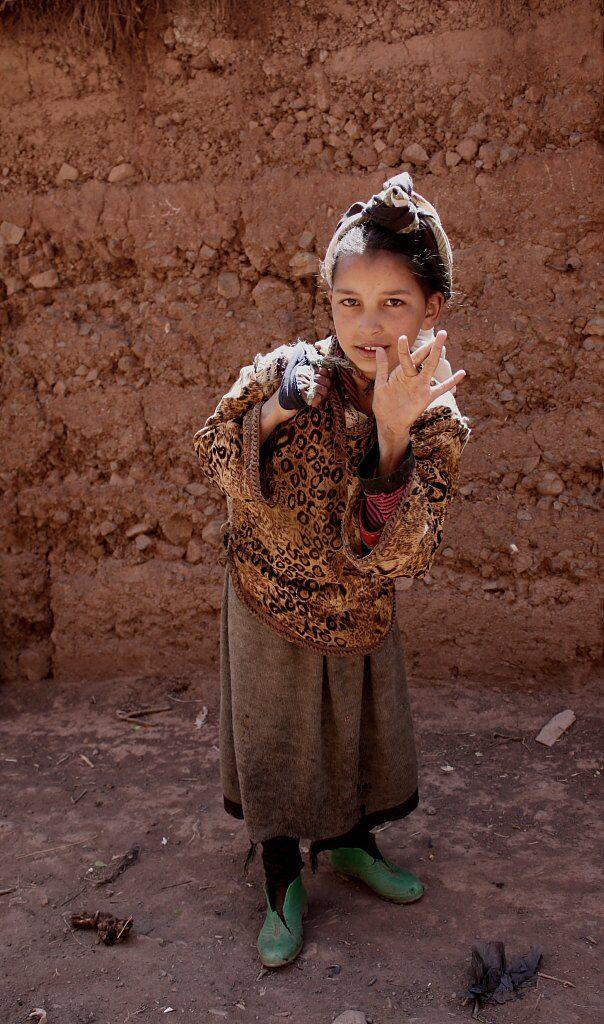 Berberská dívka