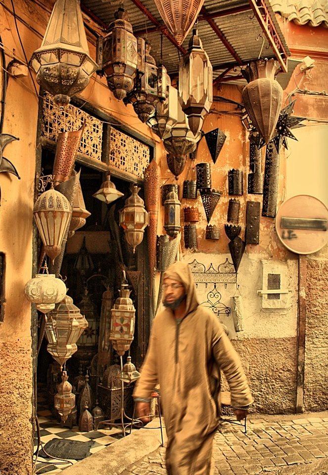 Streetphoto z Marrakesche