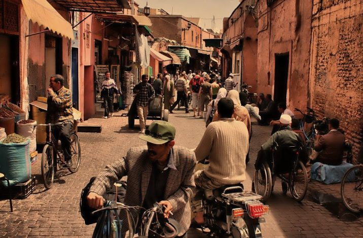 Streetphoto z Marrakesche 3