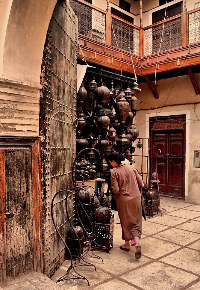 Streetphoto z Marrakesche 4