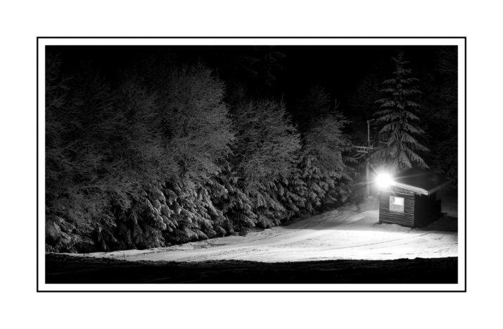 Noc na sjezdovce
