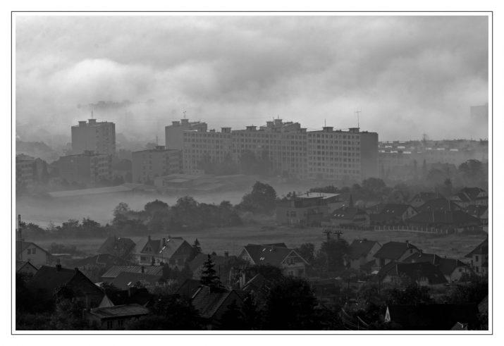Ráno ve městě
