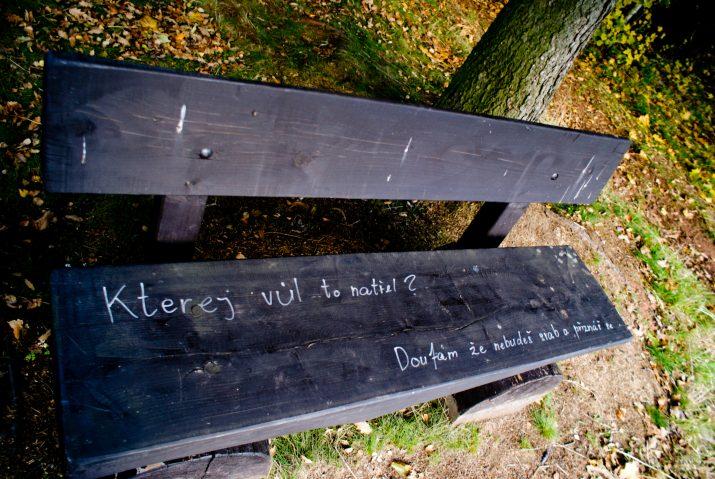 lavička na vzkazy