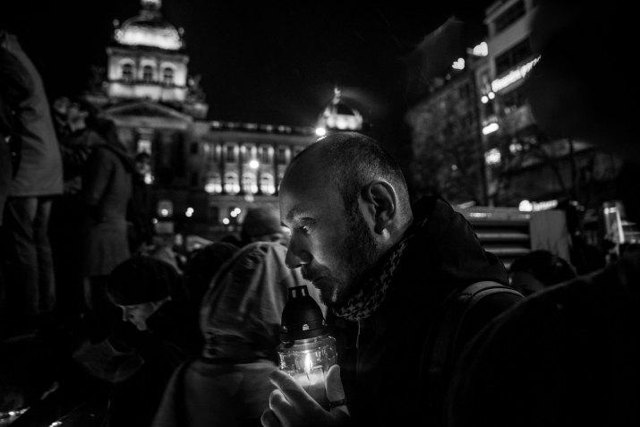MILAN JAROŠ, Respekt: Rozloučení s Václavem Havlem, prosinec 2011