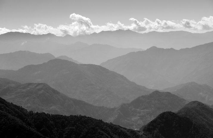 Výhled na Nepálský Yampudin