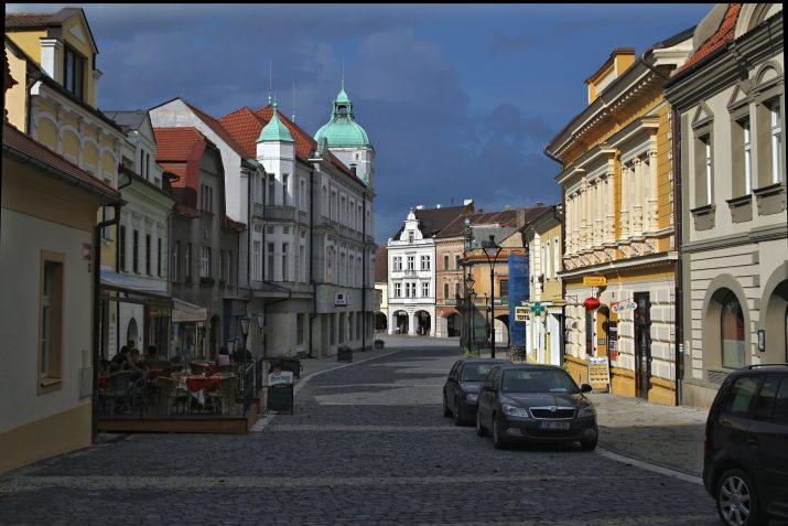 Ulice V Mělníce