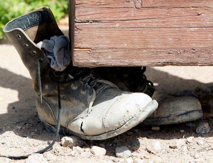 Opuštěné boty Izrael Eilat