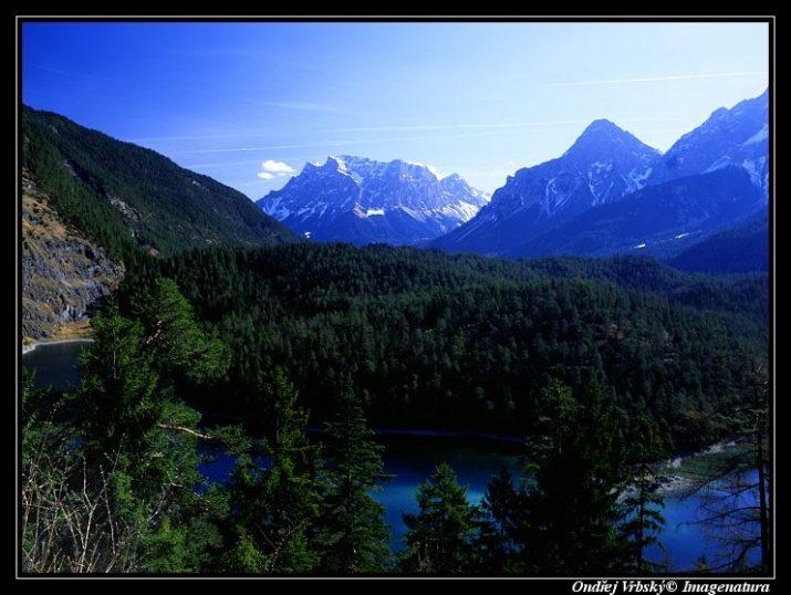 Vyhlídka na Zugspitze