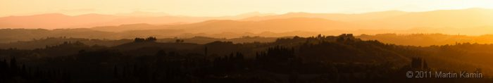 Panorama blízko Asciana